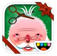 Christmas apps - Toca Hair Salon