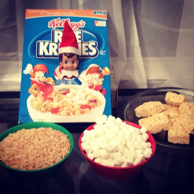 Elf on the Shelf - Rice bubbles