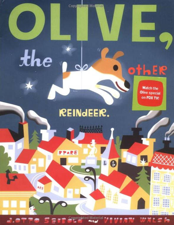 Christmas books - Olive