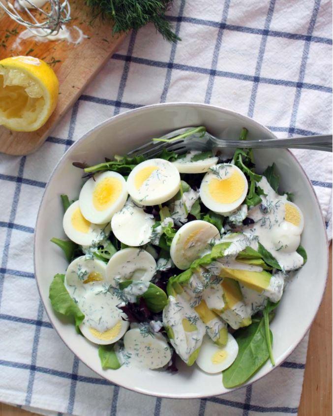 Spring racing - salad