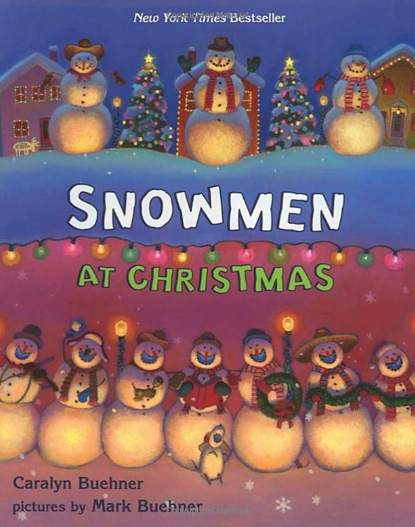 Christmas books - Snowmen at Christmas
