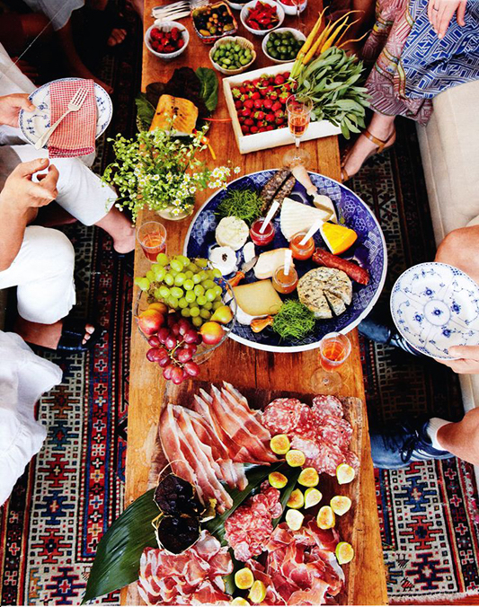Grazing platter - table