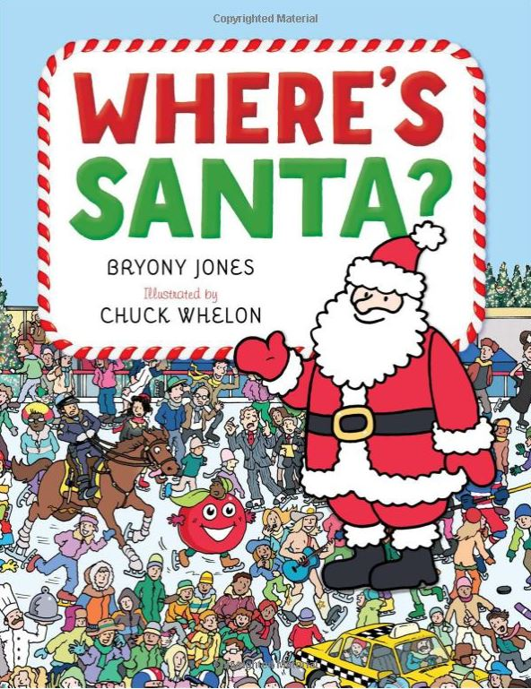 Christmas books - Where's Santa?