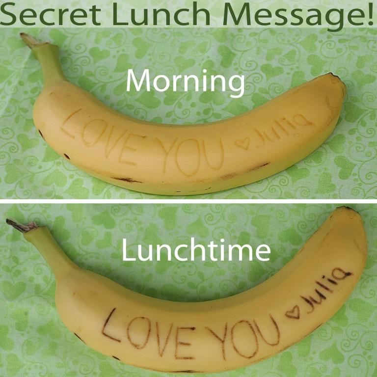 Lunch box hacks - Banana
