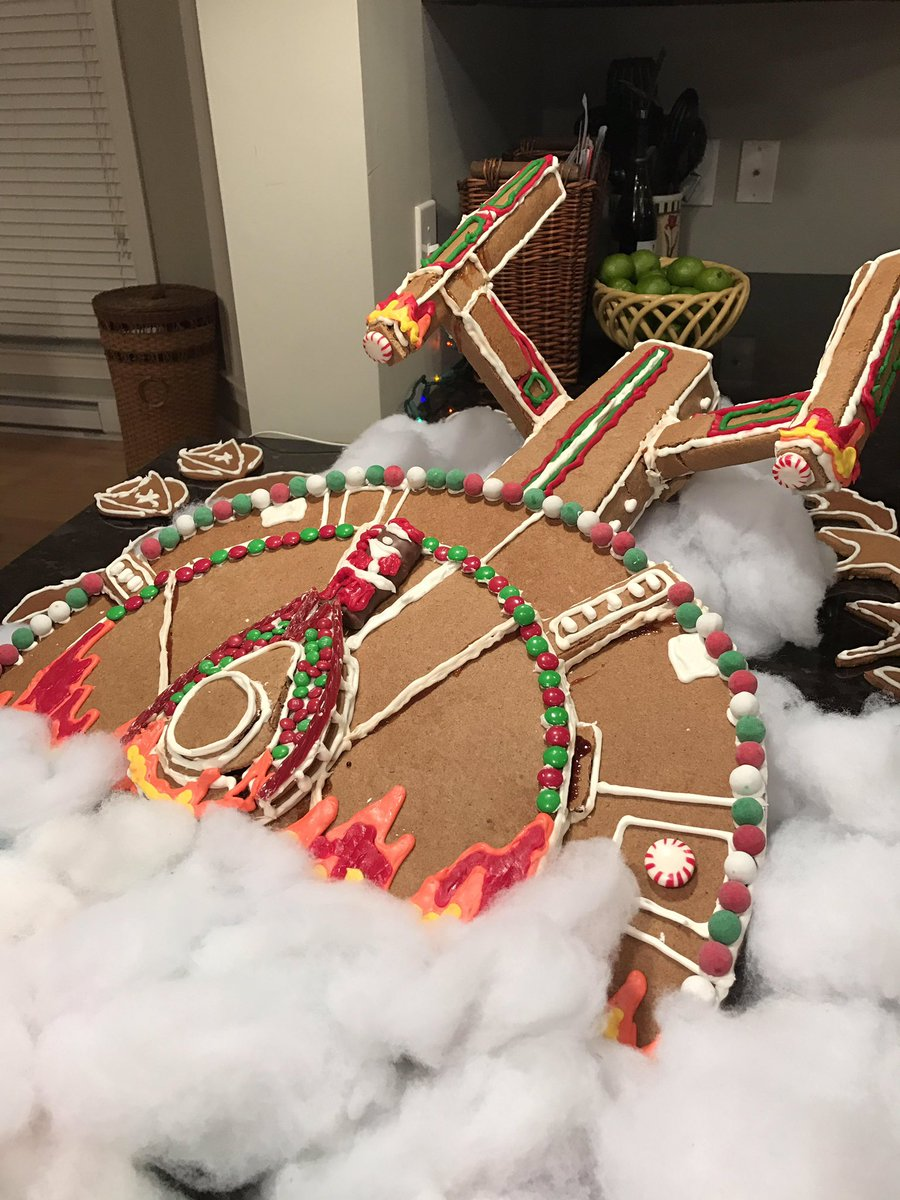 Gingerbread house - Enterprise