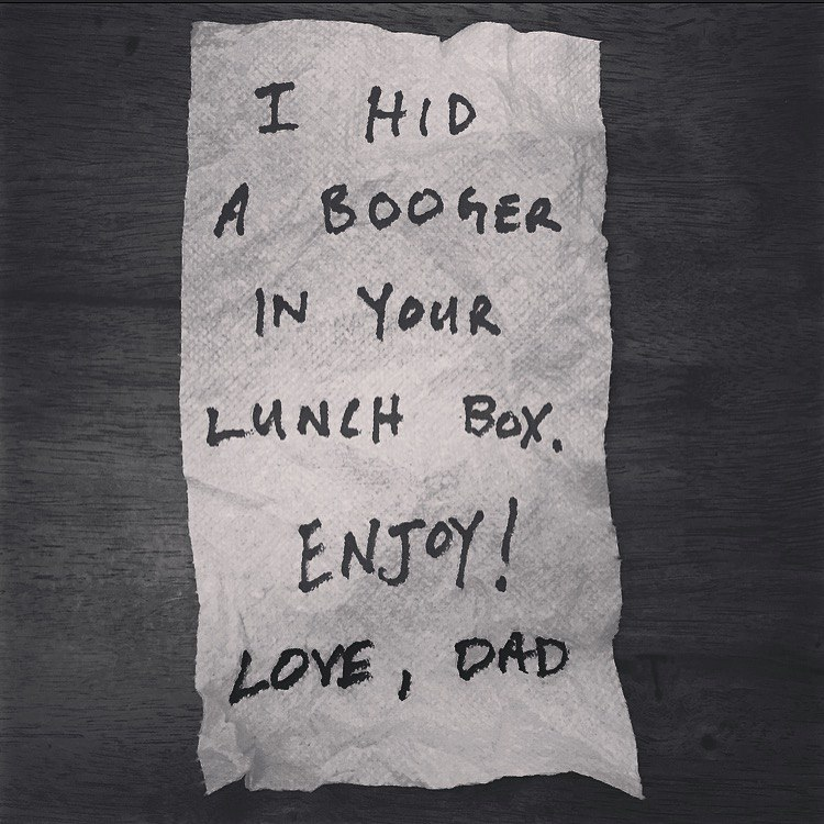Lunch box notes - napkin 3