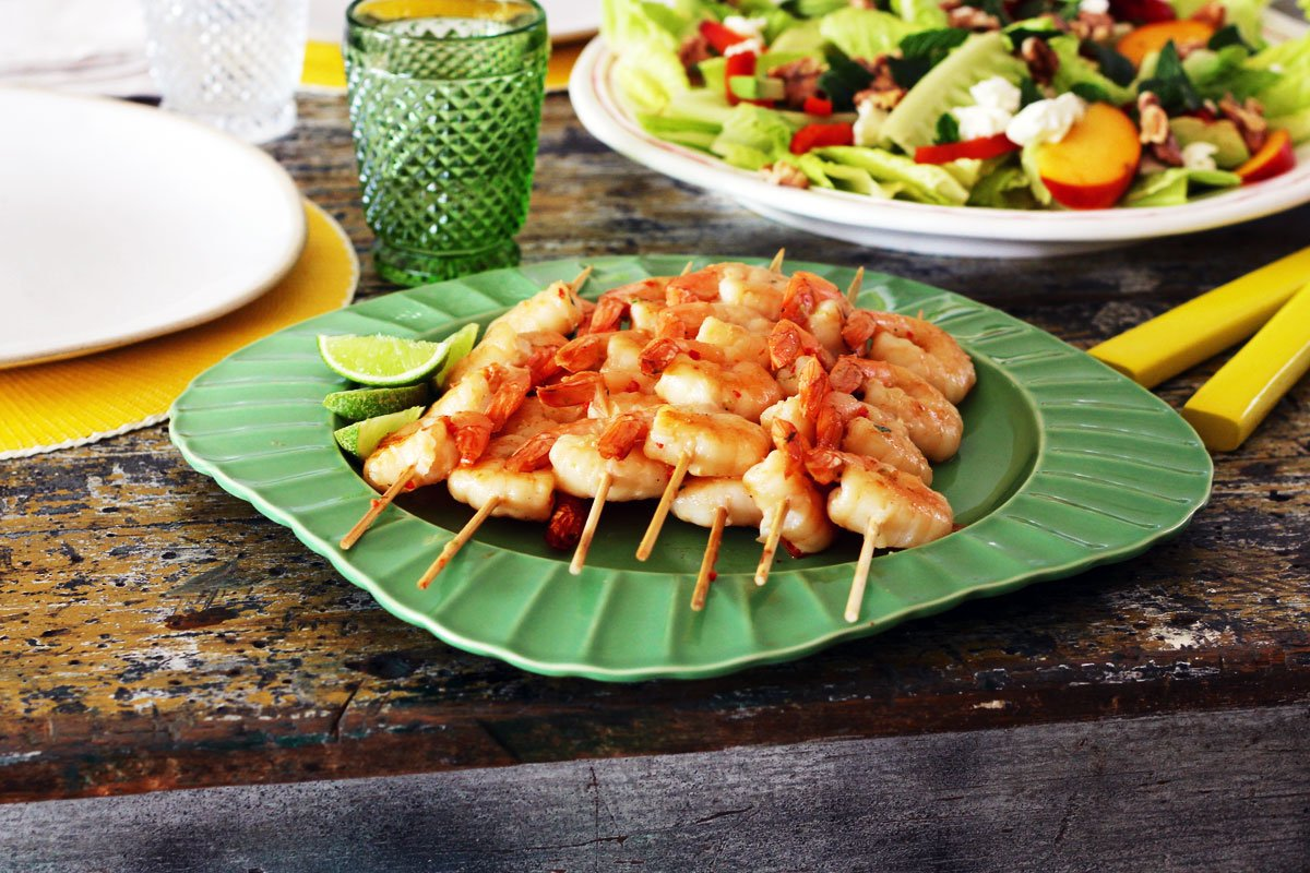 Australia Day BBQ - prawns