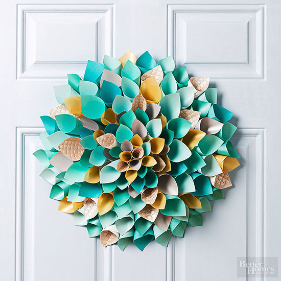 Easter craft - wreath