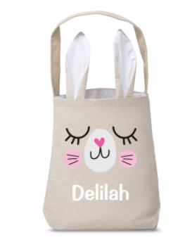 Personalised Easter Hunt Bag