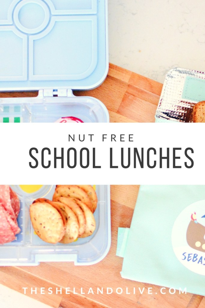 Shell and Olive Nut Free School Lunches