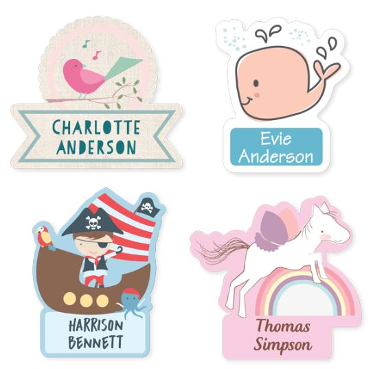 Banned baby names - Labels
