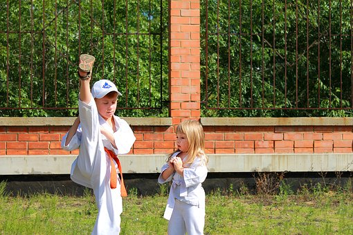 Book week costume - Karate