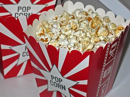 Children doing chores - popcorn