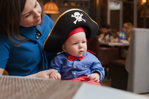 Pirate day - baby