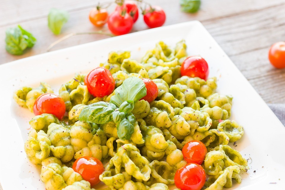 Healthy lunch - pasta