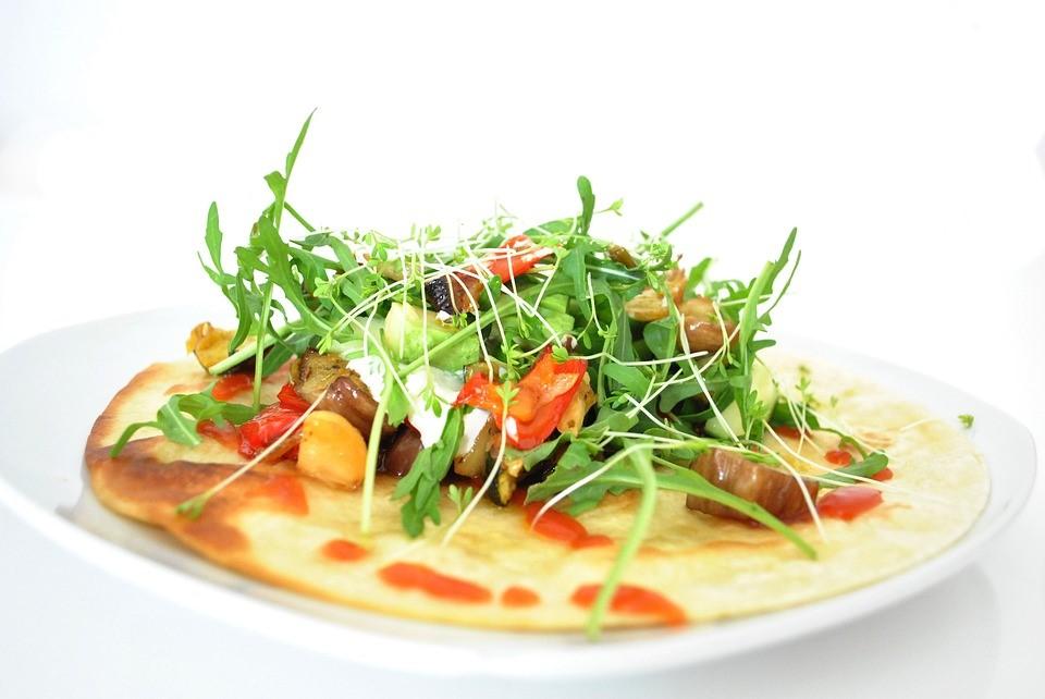 Healthy lunch - tortilla