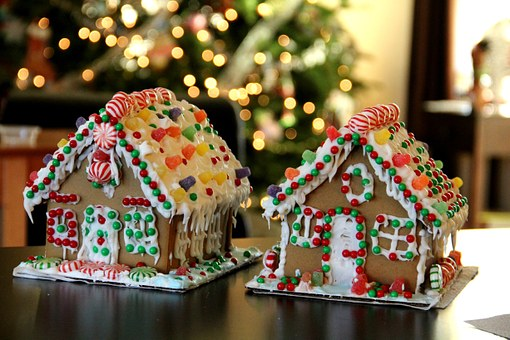 Gingerbread recipes - gingerbread house