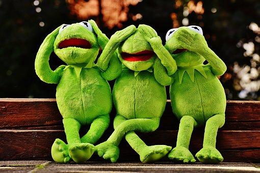 Decluttering hacks - Kermit