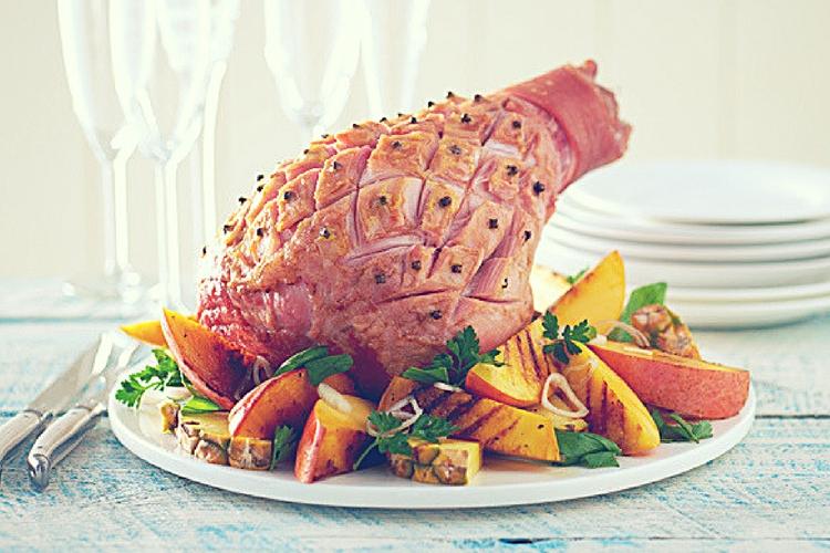 Ham glaze - pineapple and mango