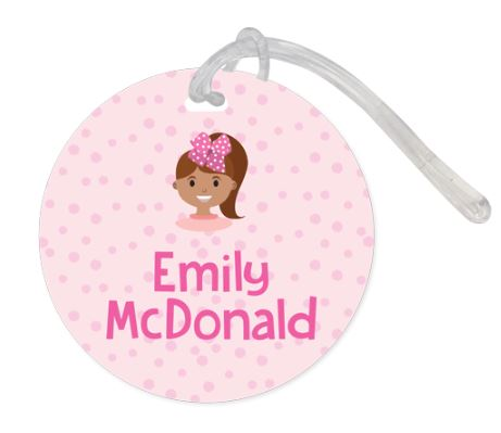 Flying with children - Bag tag