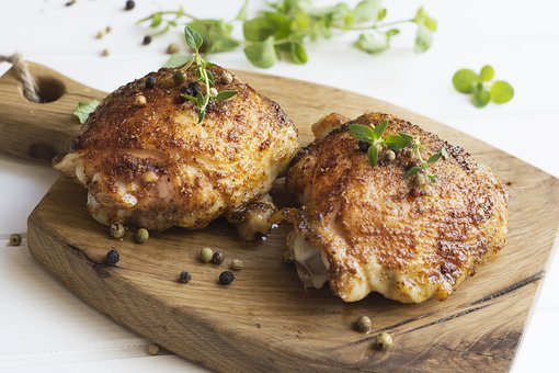 Food affects sleep - Baked chicken