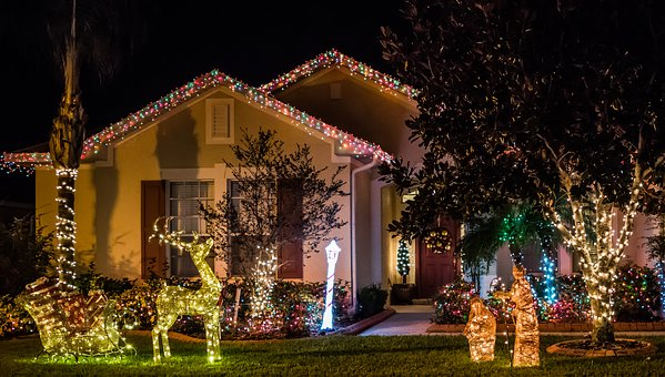 New Year - Christmas lights