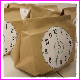 New Year - countdown bags