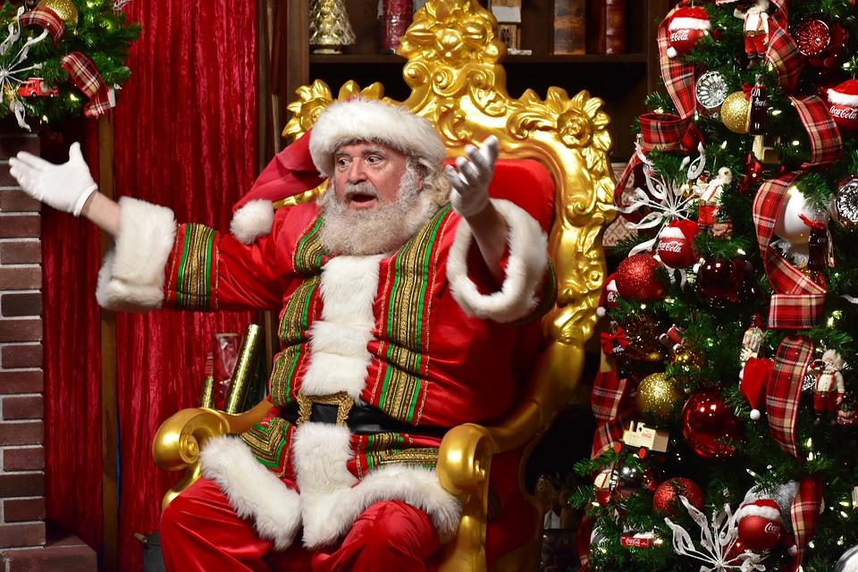 Christmas carol origins - Santa