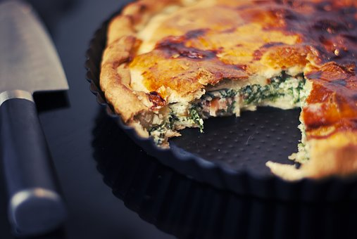 Food affects sleep - Quiche
