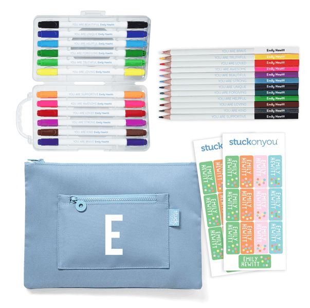 Back to school photos - school kit
