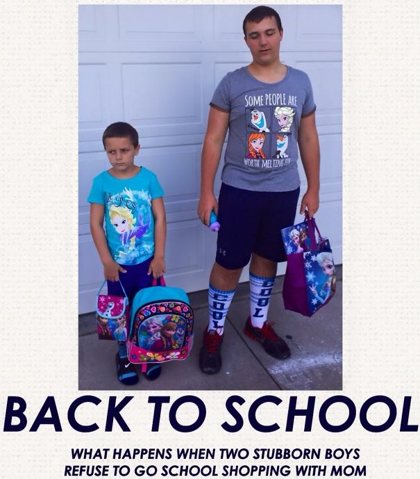 Back to school photos - boys