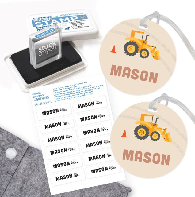 Back to school photos - clothing stamp pack