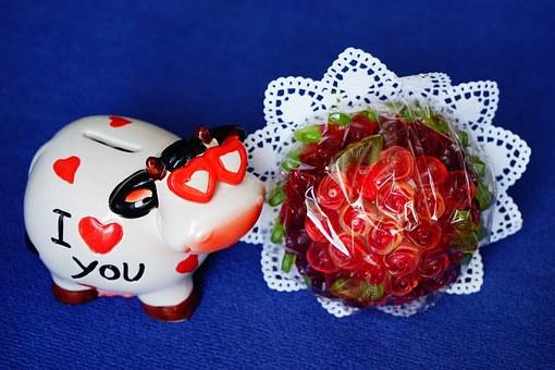 Valentine's Day - pig