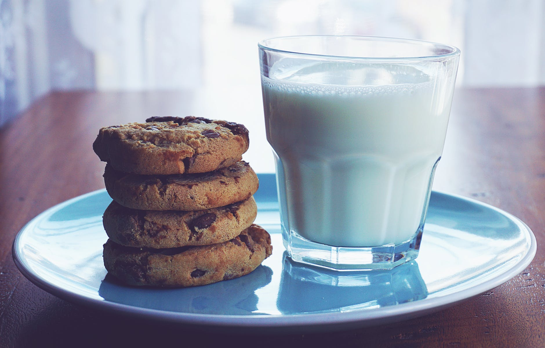 Breast milk -Cookies and milk