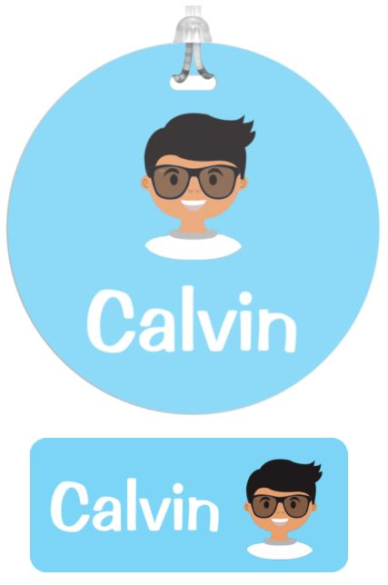 Name meanings - Calvin name labels