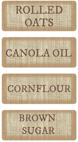 Home decorating trends - pantry labels