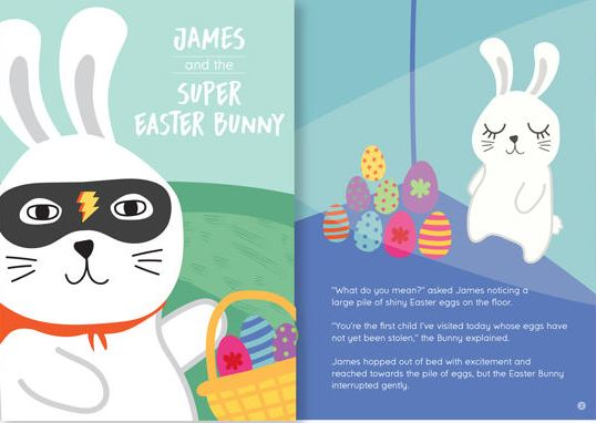 Easter egg hunt - Super Easter Bunny book