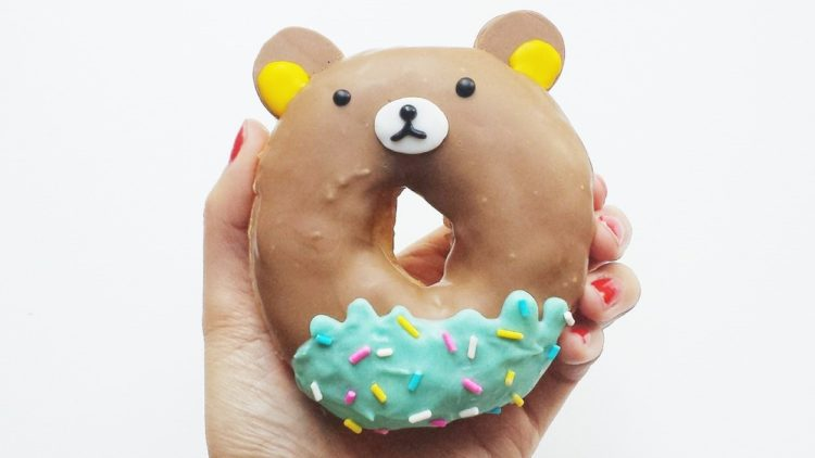 A picture of a donut for donut day