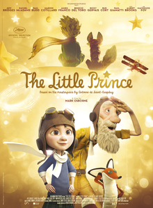 "The poster art for ""The Little Prince"" film"