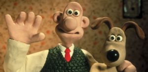 A picture of the Wallace and Gromit characters