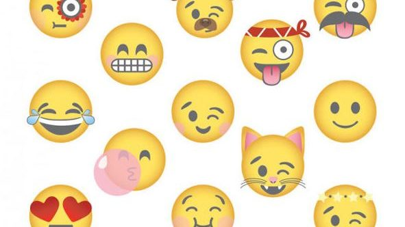 A picture of various emojis for Emoji Day