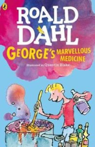 "A picture of the book ""George's Marvellous Medicine"""