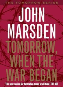 "A picture of the book ""Tomorrow When the War Began"""