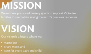 A picture of the mission and vision of Geelong Mums