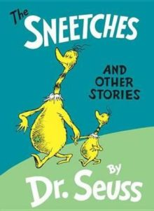 "A picture of the book ""The Sneetches"""