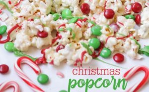 A picture of Christmas Popcorn