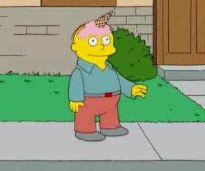 A picture of Ralph from The Simpsons