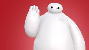 A picture of the character Baymax