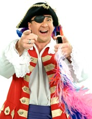 A picture of Captain Feathersword