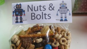 A picture of robot snacks